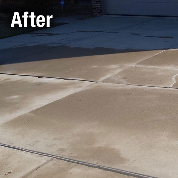 A-1 Concrete Johnson City Driveway Leveling After